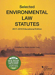 Selected Environmental Law Statutes