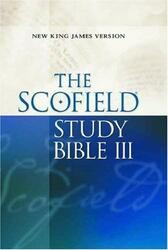 Scofield Study Bible III NKJV