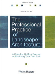 Professional Practice Of Landscape Architecture