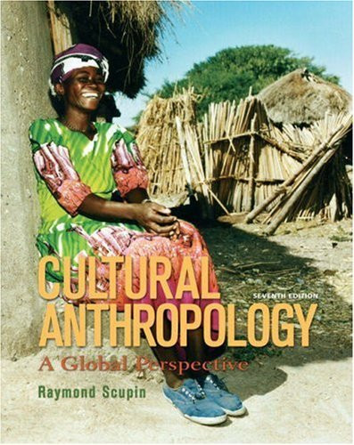 cultural anthropology by raymond scupin isbn 9780205158805 0205158803