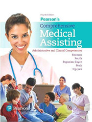 Pearson's Comprehensive Medical Assisting
