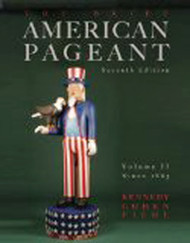 Brief American Pageant A History Of The Republic Volume 2