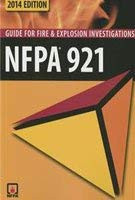 Nfpa 921 Guide For Fire and Explosion Investigations 2014