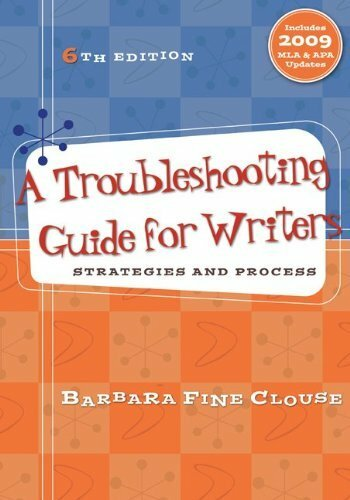 Troubleshooting Guide For Writers