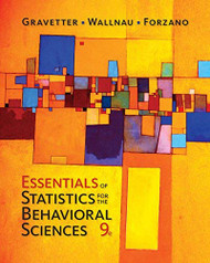 Essentials Of Statistics For The Behavioral Sciences