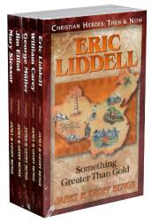Christian Heroes Books 6-10 Gift Set