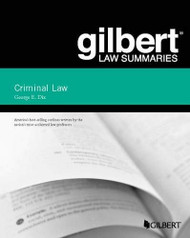 Gilbert Law Summary on Criminal Law