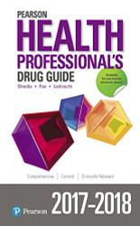 Pearson Health Professional's Drug Guide 2017-2018