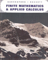 Finite Mathematics And Applied Calculus