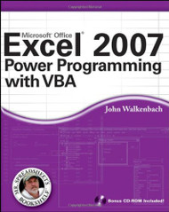 Excel Power Programming With Vba