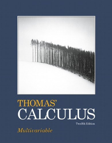 Thomas' Calculus Multivariable