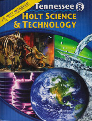 Holt Science and Technology Tennessee Student Edition Grade 8 2010
