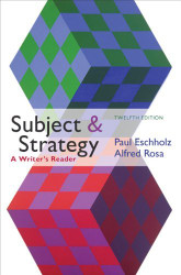 Subject And Strategy