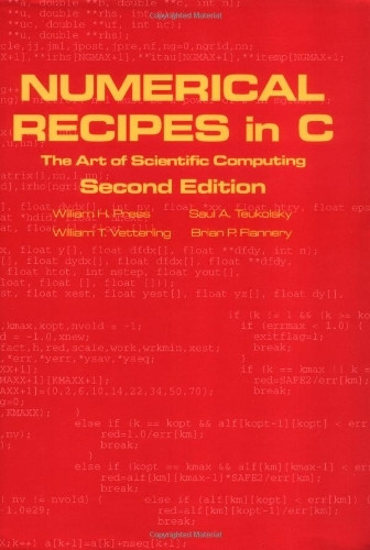 Numerical Recipes In C