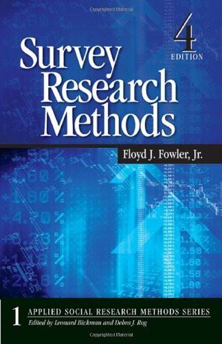 Survey Research Methods