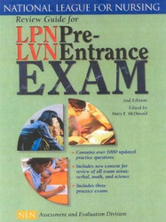 Review Guide For Lpn/Lvn Pre Entrance Exam