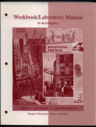 Workbook/Lab Manual To Accompany Vis-A-Vis