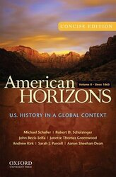 American Horizons Concise Volume 2