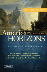 American Horizons Concise Volume 1