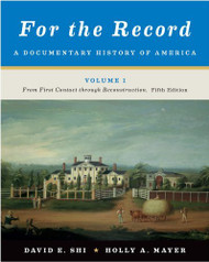 For the Record volume 1