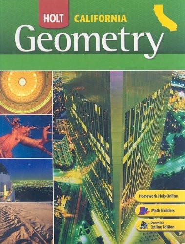Geometry California Grades 9-12