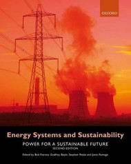 Energy Systems and Sustainability