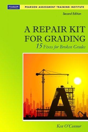 Repair Kit For Grading