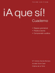 Cuaderno Workbook/Lab Manual for A que si!