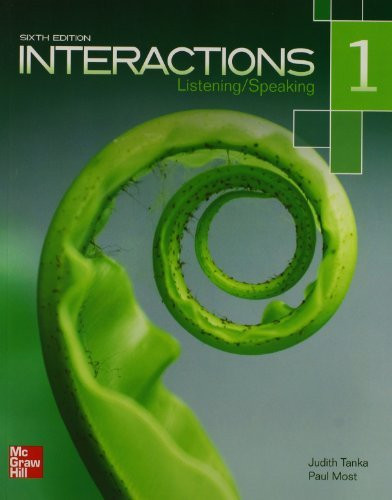 Interactions Level 1 Listening/Speaking Student Book