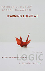 Learning Logic Cd For A Concise Introduction - Patrick J Hurley