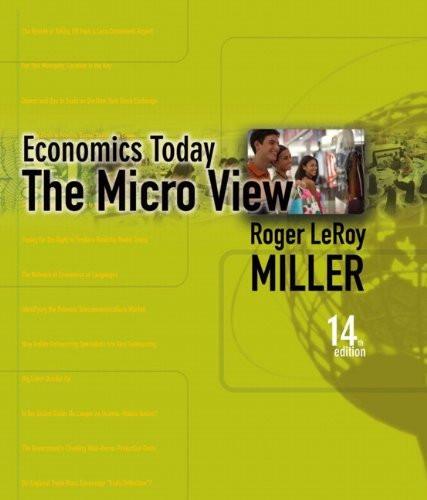 Economics Today The Micro View