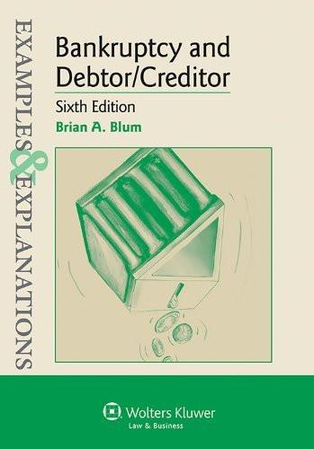 Bankruptcy and Debtor Creditor