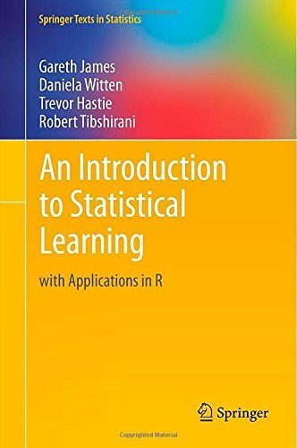Introduction to Statistical Learning