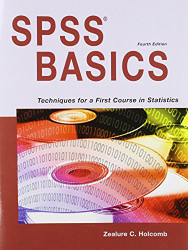 Spss Basics by Zealure Holcomb