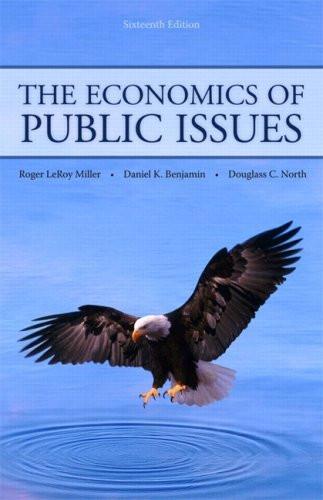 Economics Of Public Issues