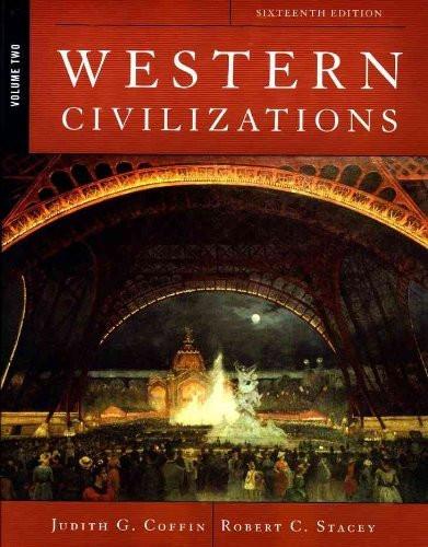 Western Civilizations Volume 2