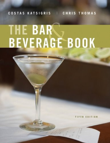 Bar And Beverage Book