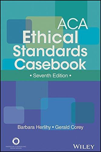 Aca Ethical Standards Casebook