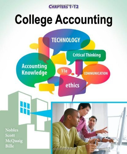 College Accounting Chapters 1-12
