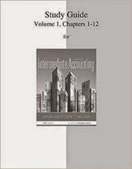 Study Guide To Accompany Intermediate Accounting Volume 1