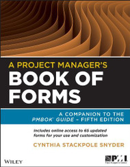 Project Manager's Book Of Forms