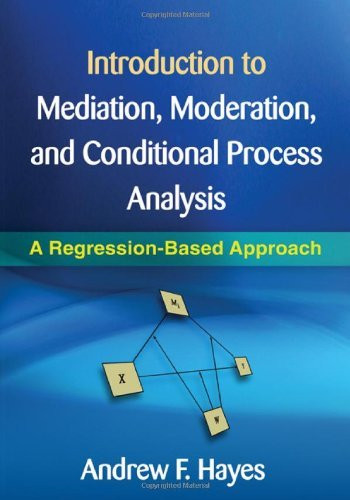 Introduction to Mediation Moderation and Conditional Process Analysis