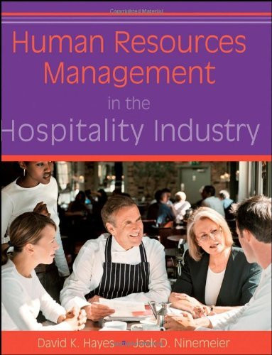 human resource in hospitality industry pdf