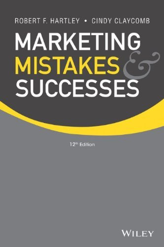 Marketing Mistakes And Successes