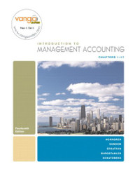 Introduction To Management Accounting Chapters 1-17