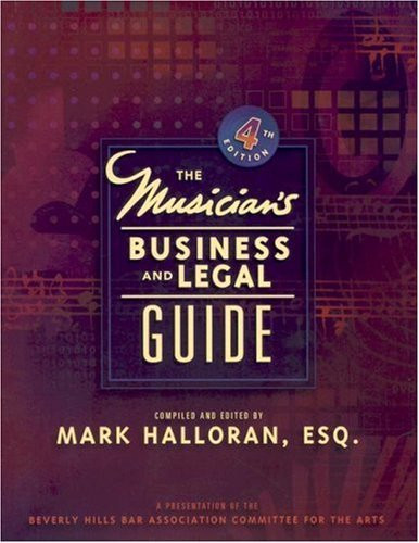 Musician's Business And Legal Guide