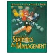 Statistics For Management