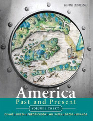 America Past And Present Volume 1