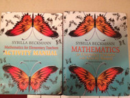 Activity Manual For Mathematics For Elementary Teachers