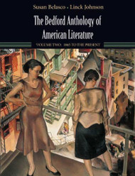 Bedford Anthology Of American Literature Volume 2